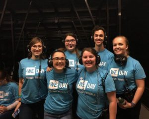 We day production team