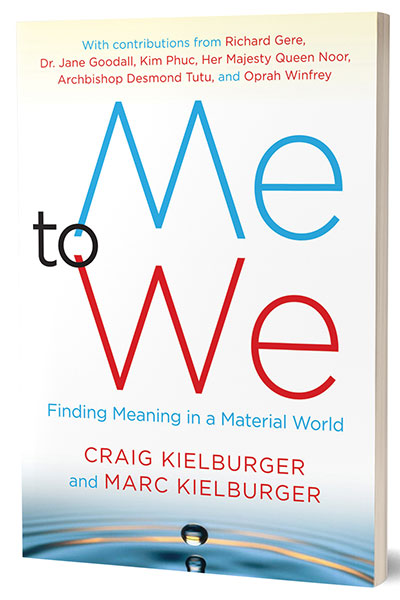 ME to WE- book by Craig and Marc Kielburger