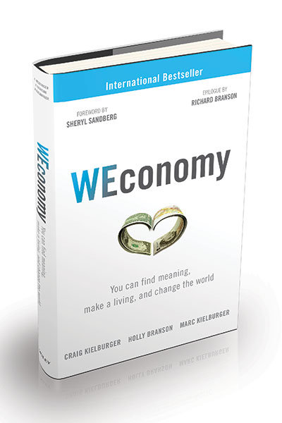 WEconomy-book by Craig and Marc Kielburger