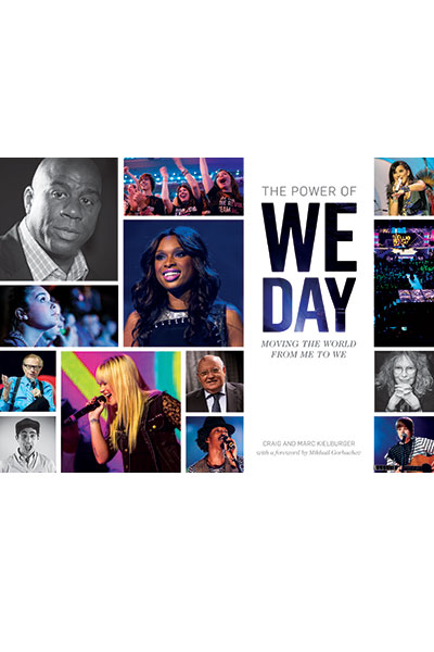 WE day- book by Craig and Marc Kielburger